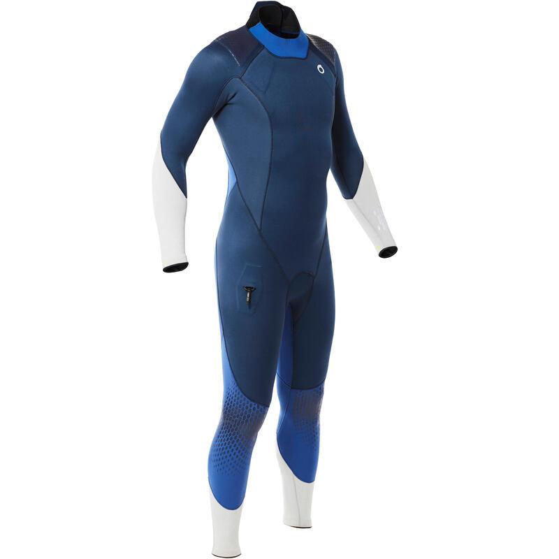 Erkek Tüplü Dalış Wetsuiti - 3mm - Mavi - Scd 540