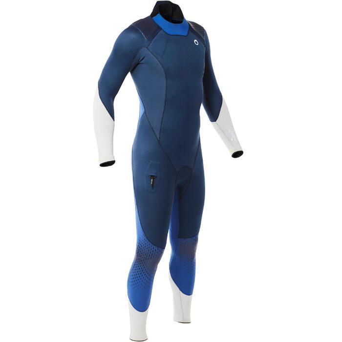 Traje Buceo Subea SCD 540 Hombre Neopreno 3MM con Refuerzos Azul