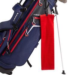 Serviette de golf Trois Plis Rouge