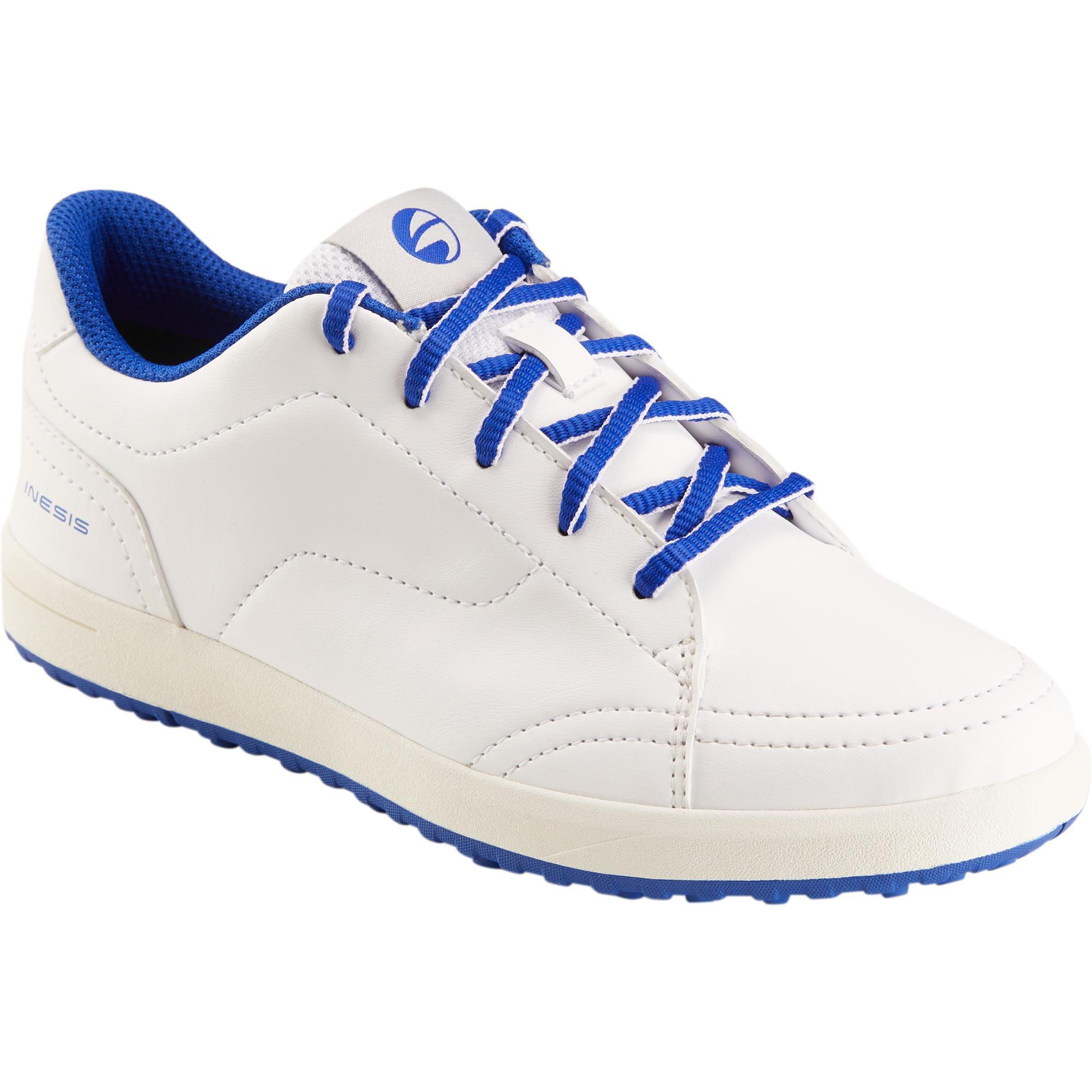 Inesis chaussures golf enfant blanches decathlon - Chaussure enfant decathlon ...