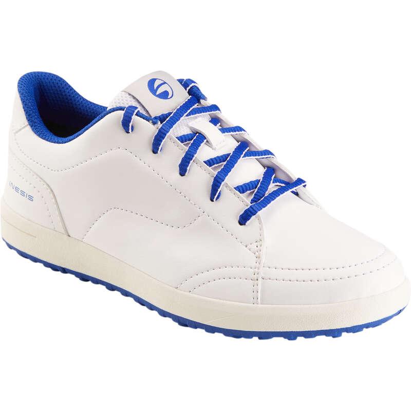 ABBIGLIAMENTO E SCARPE  GOLF JUNIOR Golf - Scarpe golf junior bianche INESIS - Abbigliamento e scarpe golf