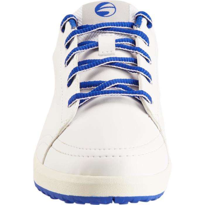 Zapatos golf niños blanco