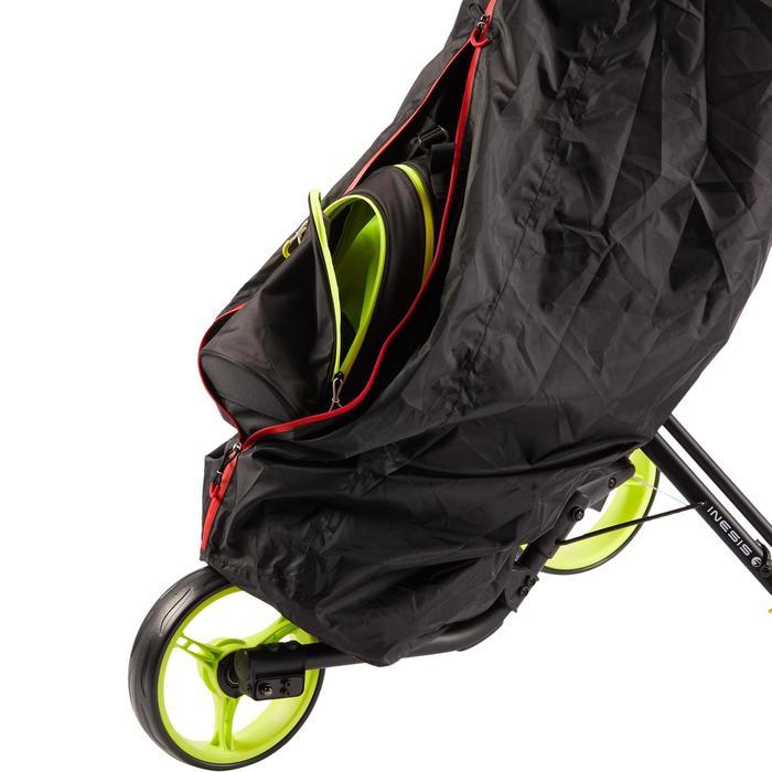 Regenhoes voor golftas zwart