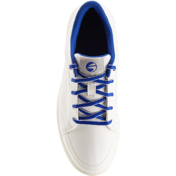 Chaussures golf enfant blanches