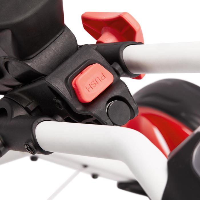 Golftrolley 900 3-Rad weiß/coral