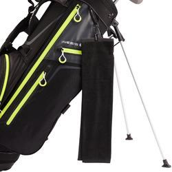 Serviette de golf Trois plis Noir