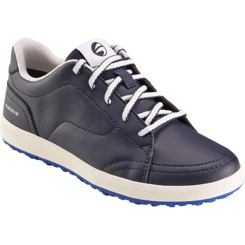 ABBIGLIAMENTO E SCARPE  GOLF JUNIOR Golf - Scarpe golf junior blu INESIS - Abbigliamento e scarpe golf