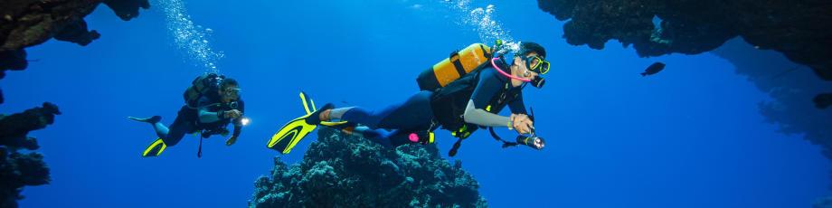 Ser mergulhador autónomo pela segurança