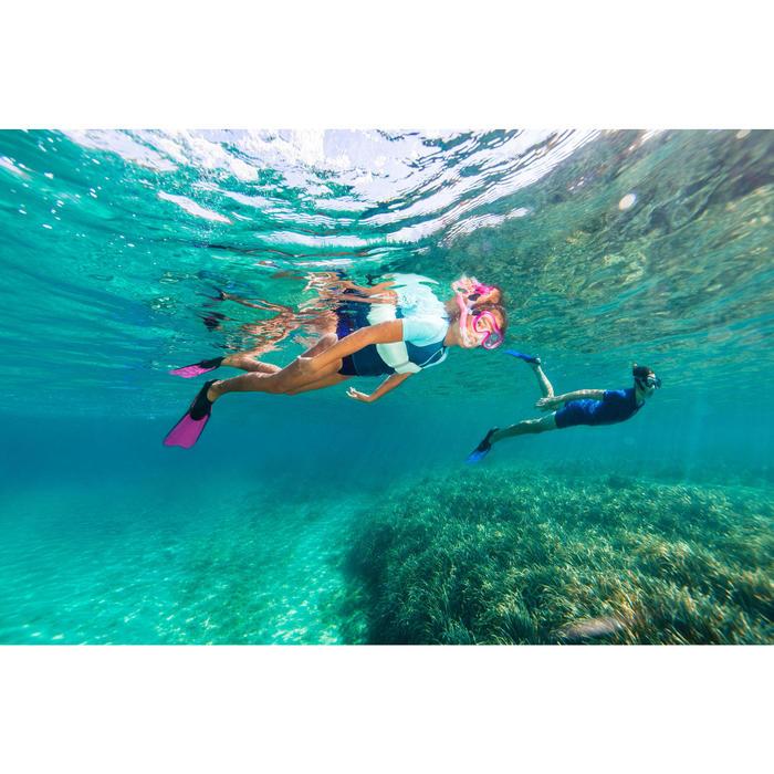 Kit de snorkeling PMT palmes masque tuba 100 enfant - 1323690