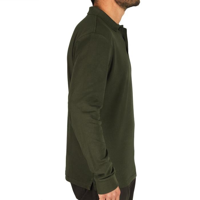 Polo SG100 manga larga verde
