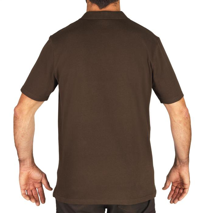 Polo SG100 manches courtes marron