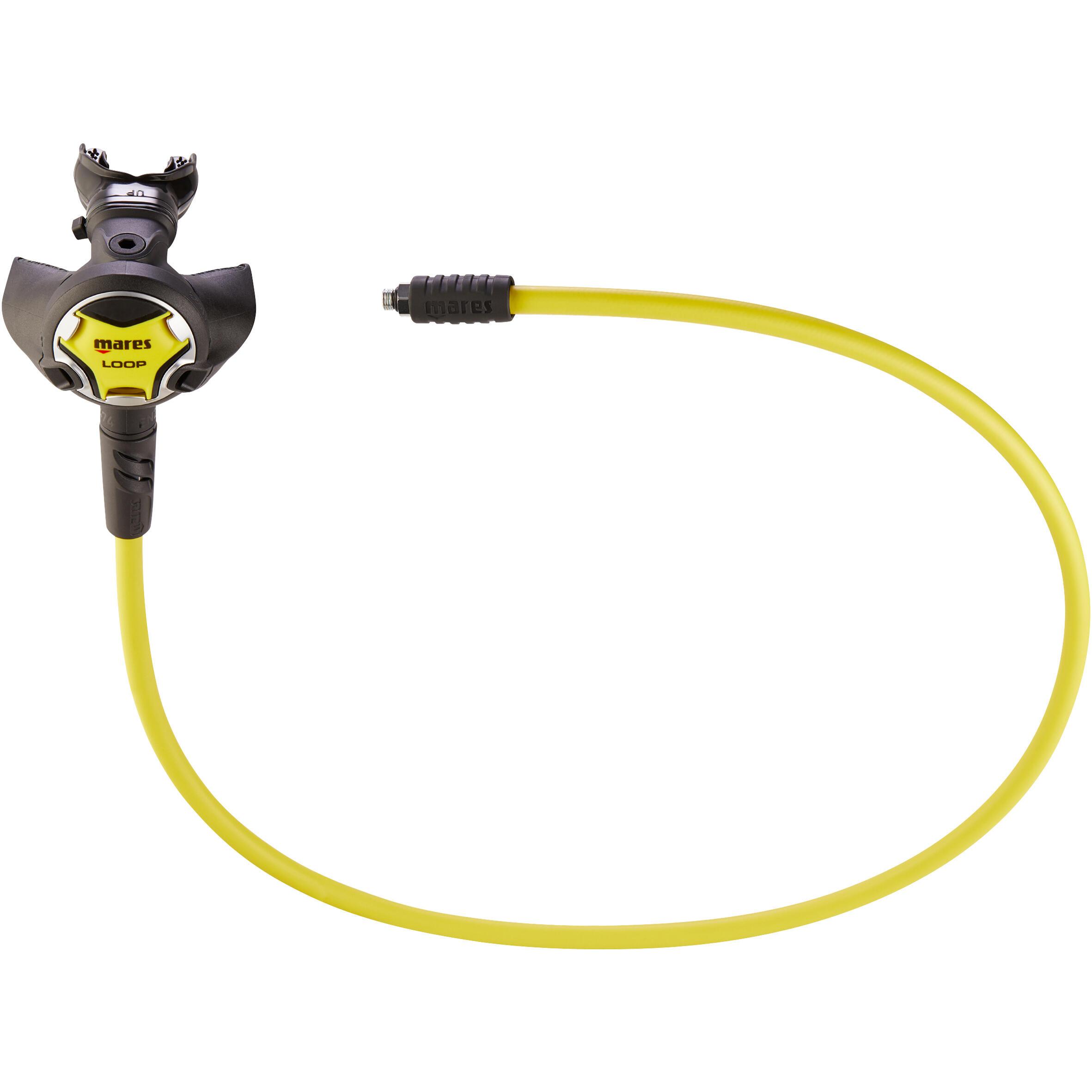 Oktopus Loop Gerätetauchen Kaltwasser   Accessoires > Schals & Tücher   Gelb - Schwarz   Mares