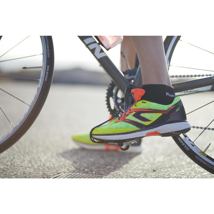 Silikonschnürsenkel Freelace TS schwarz Triathlon