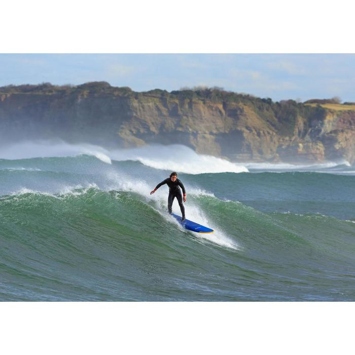 Heren surfpak 500 neopreen 4/3 mm marineblauw