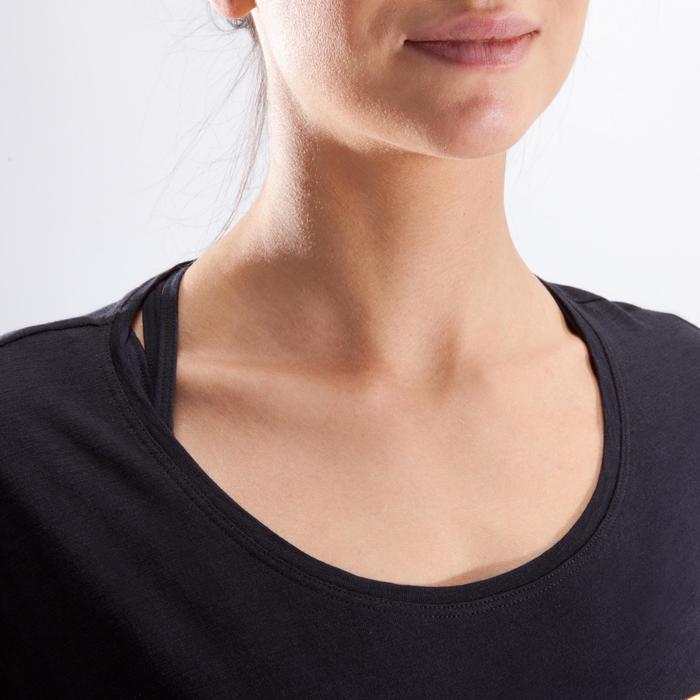 T-shirt court de danse femme - 1324047