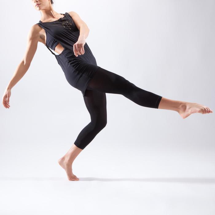 Débardeur danse noir femme