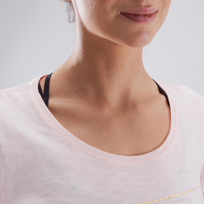 T-shirt court de danse femme - 1324077