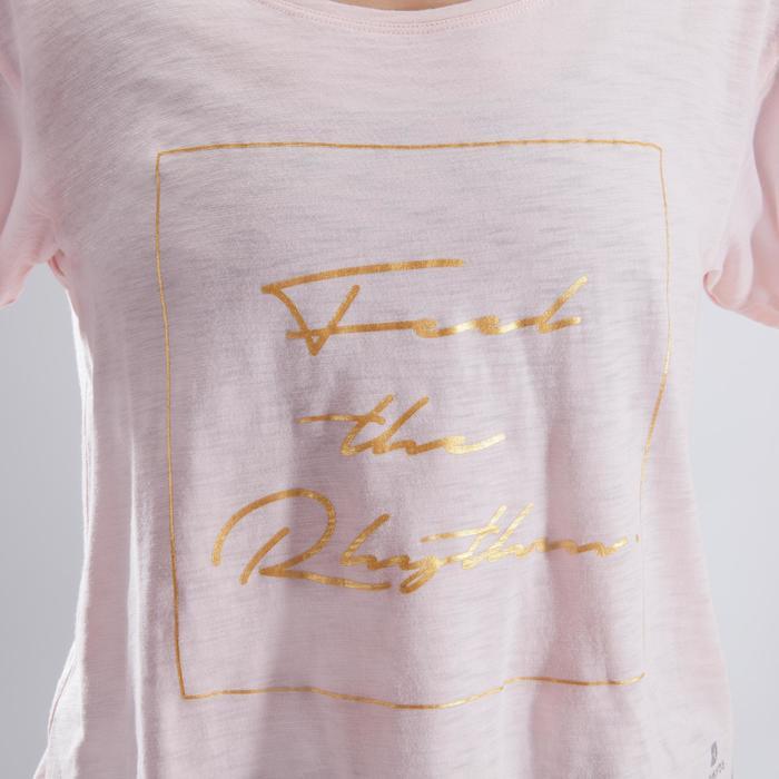T-shirt court de danse femme - 1324097