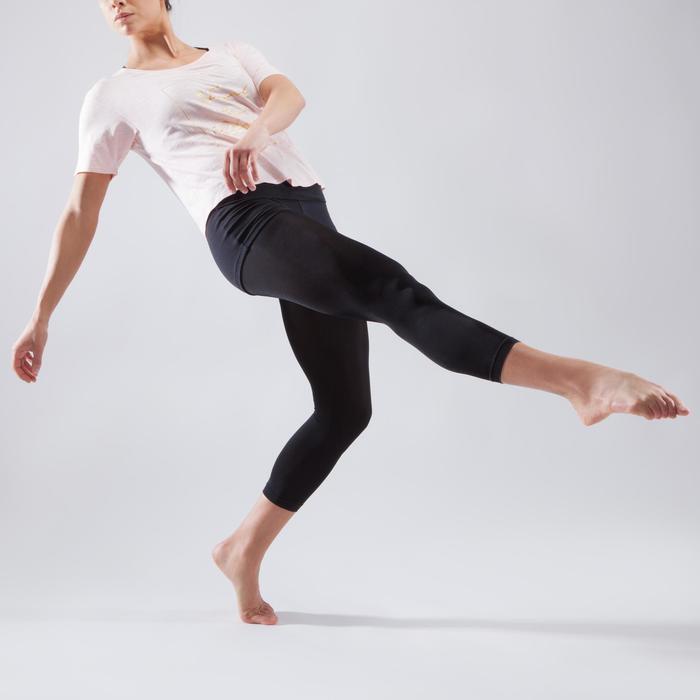 T-shirt court de danse femme - 1324105