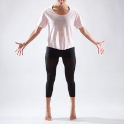 T-Shirt Tanzen kurz Damen