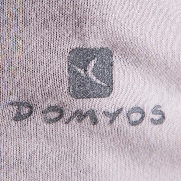 T-shirt manches courtes de danse femme rose pâle - 1324110