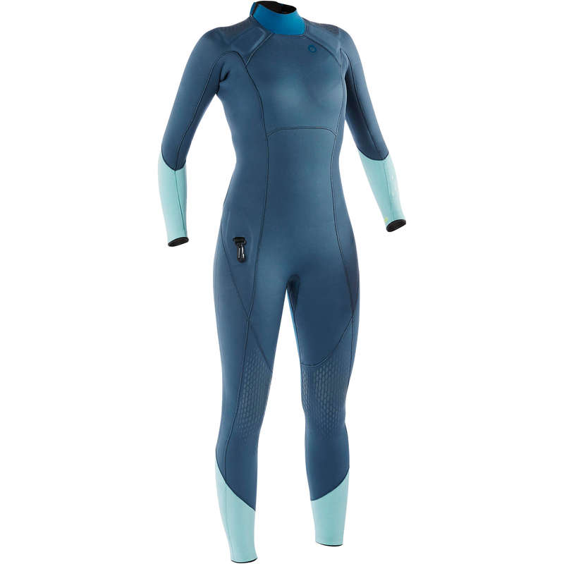 SCD SUITS >25° Scuba Diving - Women's SCD 540 3mm wetsuit SUBEA - Scuba Diving