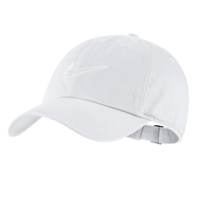 Tennis-Schirmmütze Erwachsene weiß