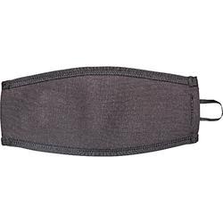 Neoprene over-strap for diving masks black/blue