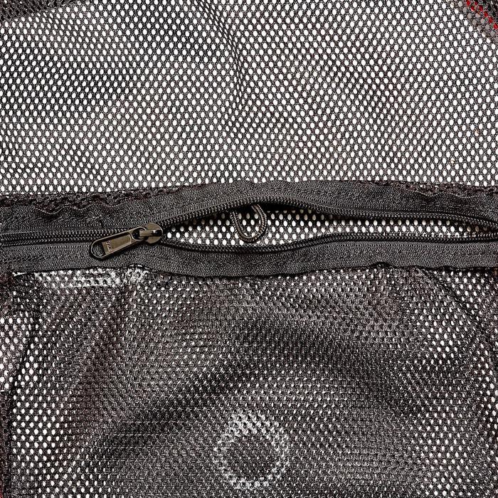 Duiktas in netmateriaal / mesh 70 l zwart