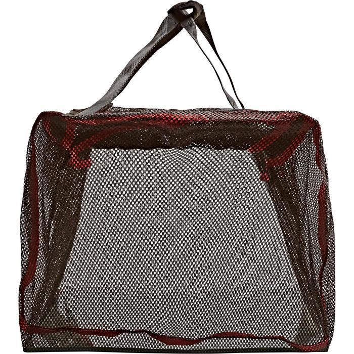 Sac de plongée sous-marine en bouteille filet/mesh 70 L noir