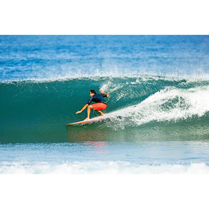 Planche de surf Longboard 500 9'  avec ailerons FCS. - 1324149