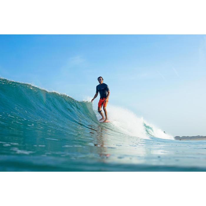 Planche de surf Longboard 500 9'  avec ailerons FCS. - 1324151