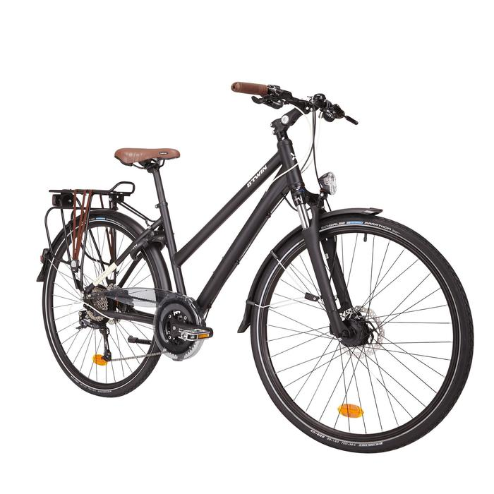 28 trekkingrad hoprider 900 damen b 39 twin decathlon. Black Bedroom Furniture Sets. Home Design Ideas