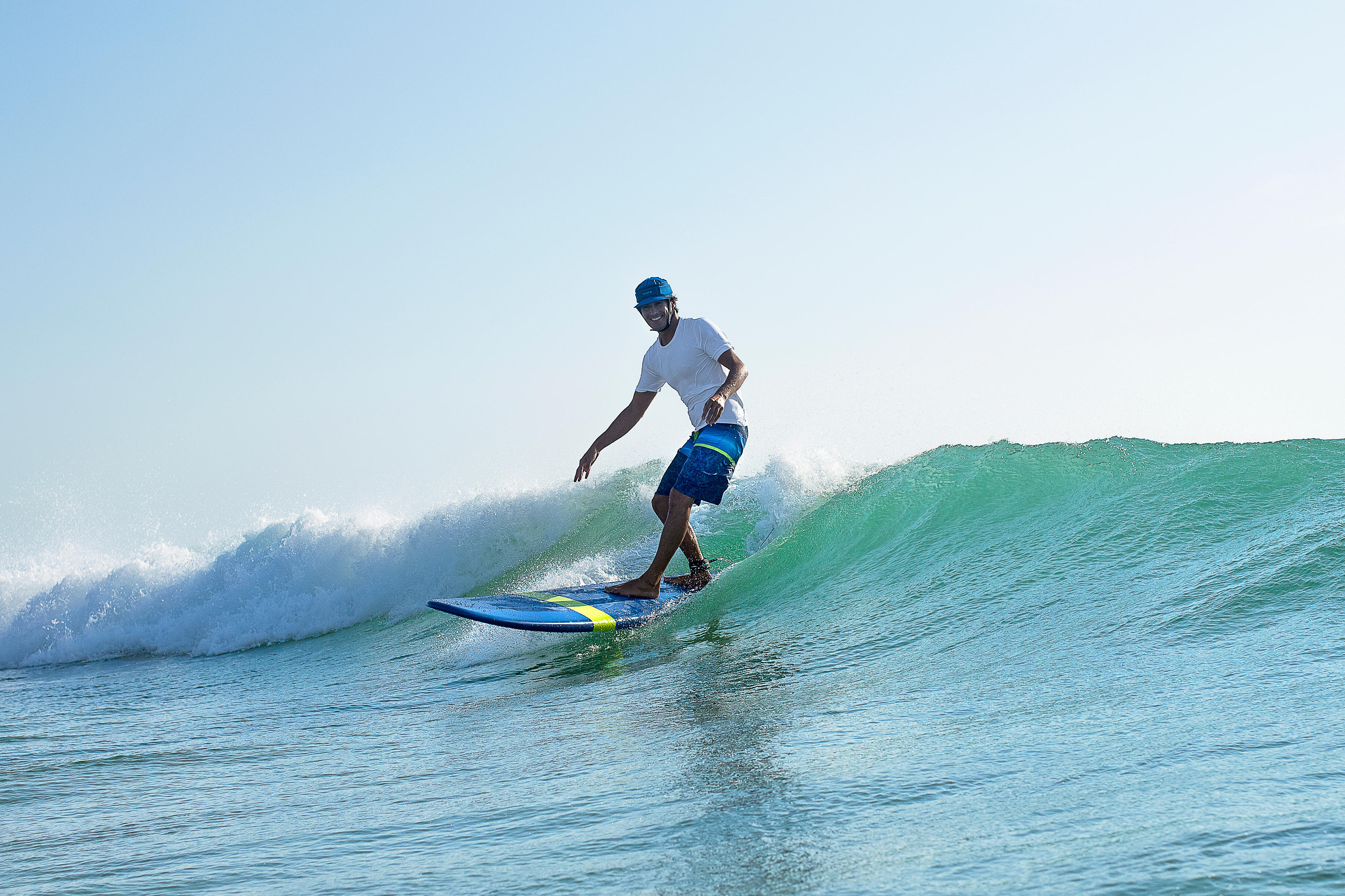 100 long surfing boardshorts Black stripes