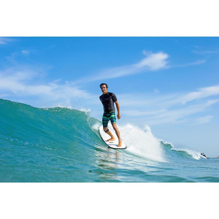 Lange surf boardshort 900 Abysse groen