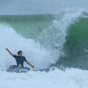 spot de surf grosses vagues