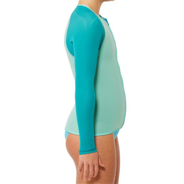 Top plongée de snorkeling 1,5mm SNK ML 500 Enfant turquoise - 1324238