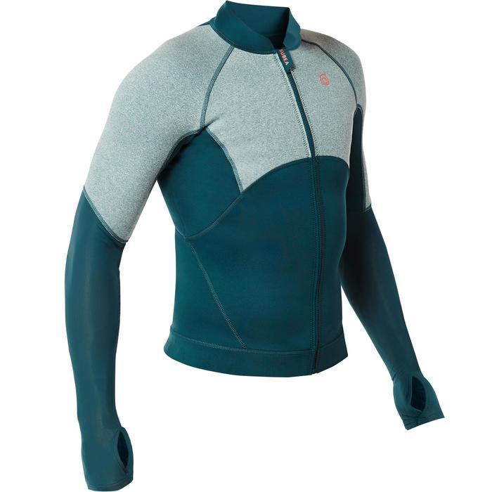 Top néoprène de snorkeling SNK 900 homme turquoise foncé - 1324240