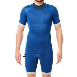 Shorty plongée sous marine SCD 500 3MM Homme Bleu