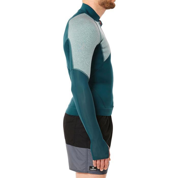 Top neopreno de snorkel SNK 900 hombre azul turquesa oscuro
