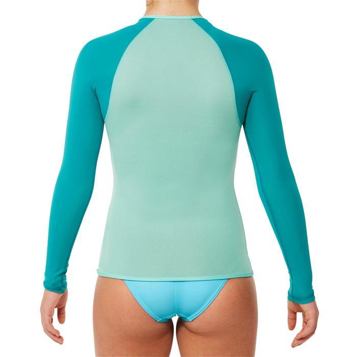 Top plongée de snorkeling 1,5mm SNK ML 500 Enfant turquoise