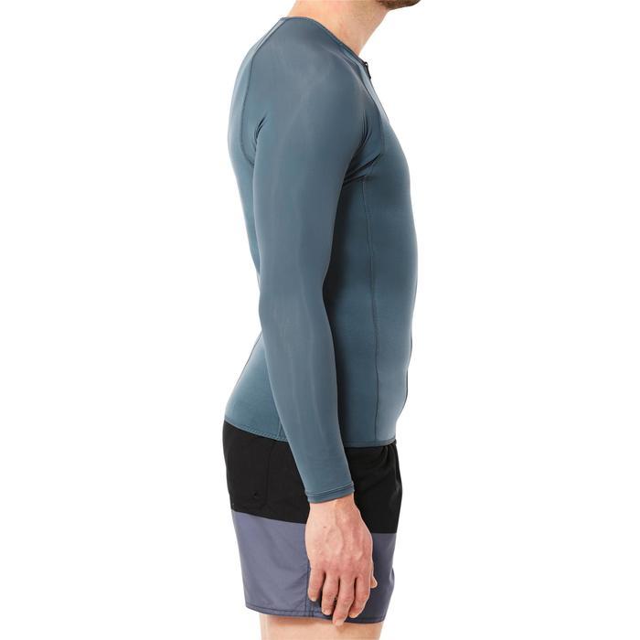Top Neopreno Protección UV Snorkel Subea SNK500 ML 1,5 mm Hombre Gris