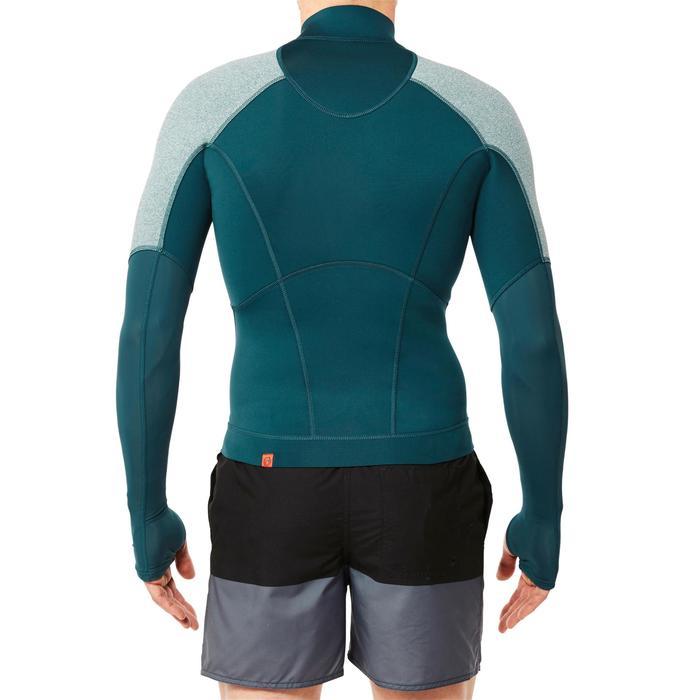 Top néoprène de snorkeling SNK 900 homme turquoise foncé - 1324312
