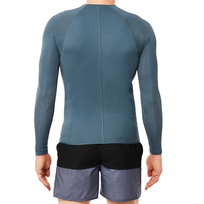ML SNK 500 1.5mm men's neoprene snorkelling top - grey