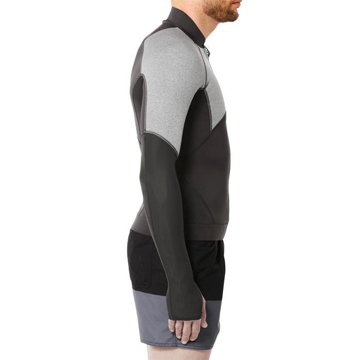 Top néoprène de snorkeling SNK 900 homme gris