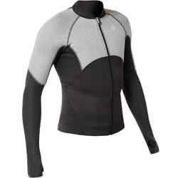 Top Neopreno Protección UV Snorkel SNK900 ML Hombre Negro Gris
