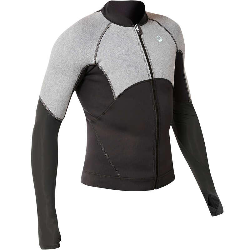 PROTEZIONE TERMICA SNORKELING Sport Acquatici - Top neoprene 900 uomo SUBEA - Snorkeling