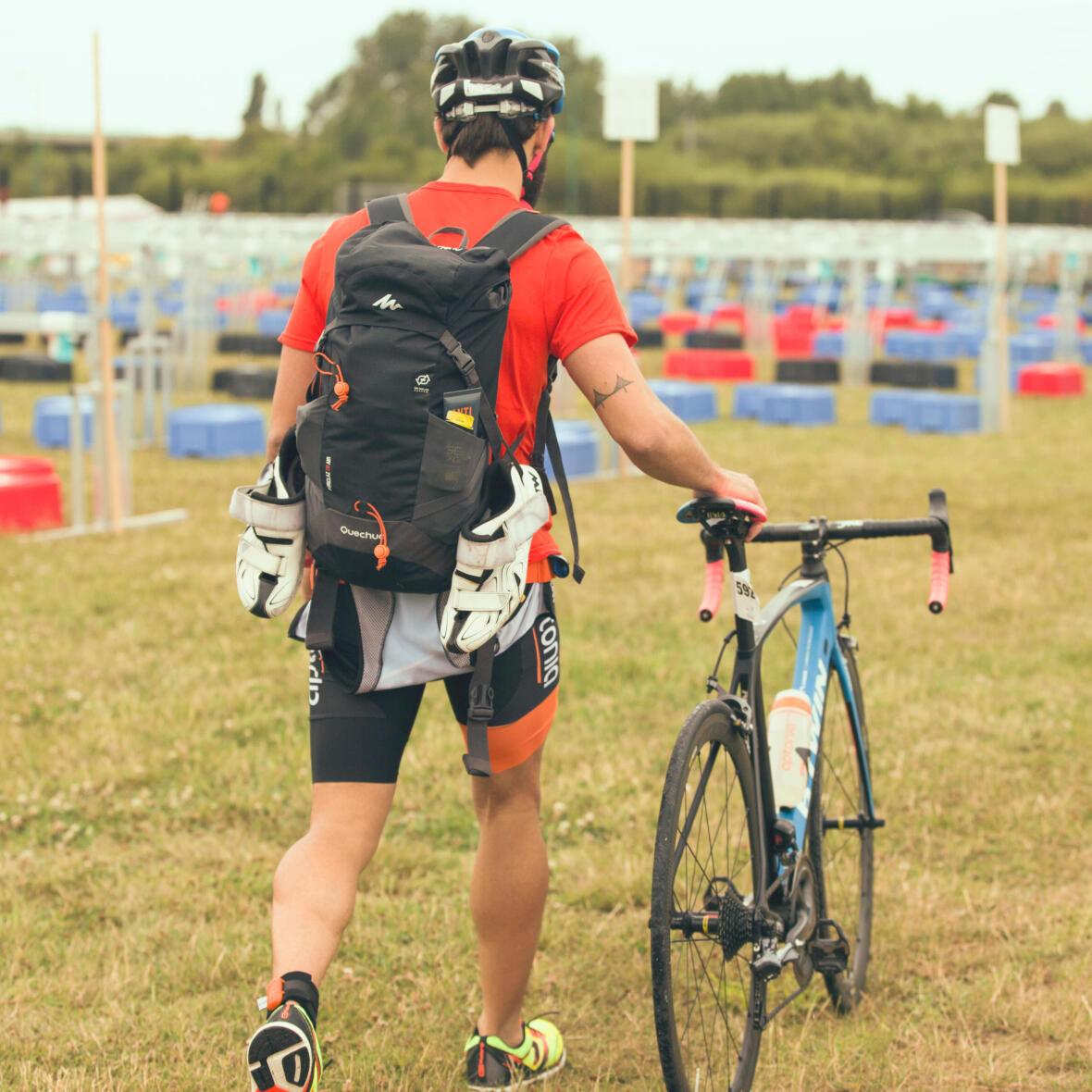 partie vélo d'un triathlon