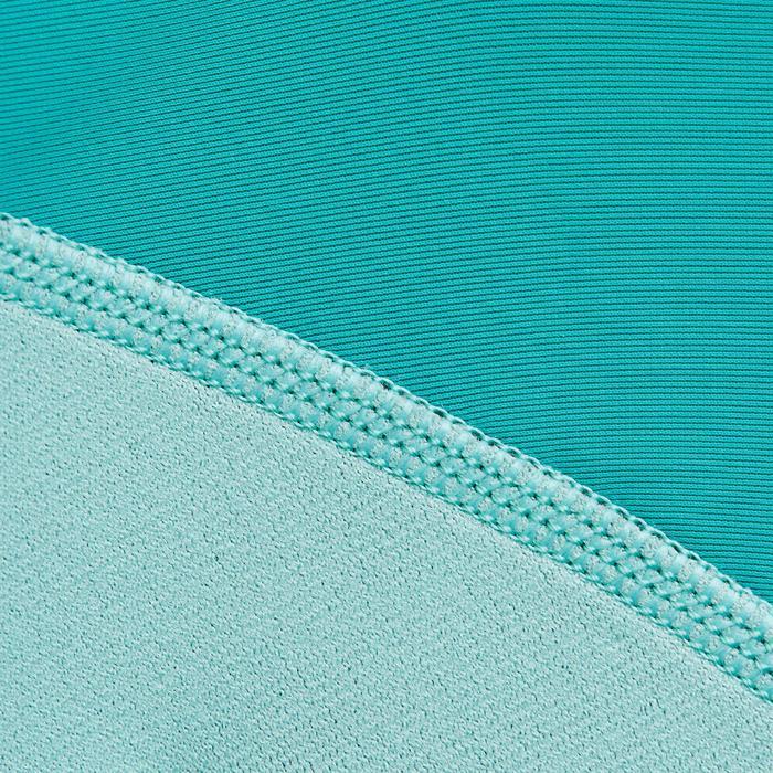 Top de neopreno de snorkel 1,5 mm SNK ML 500 júnior turquesa