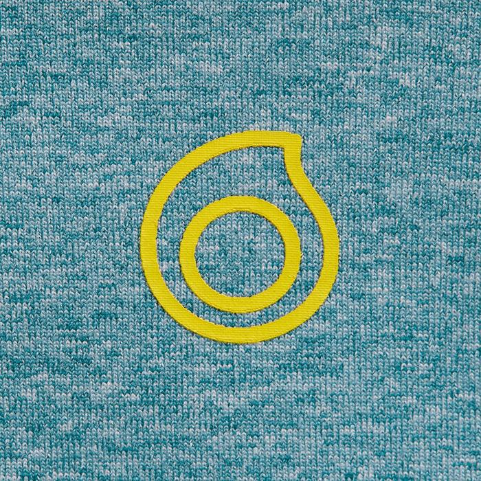 900 1.5mm kids neoprene snorkelling top blue yellow - 1324397